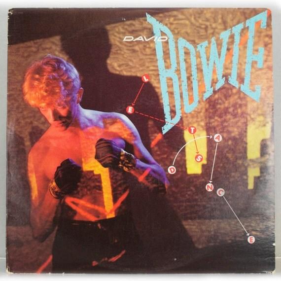David Bowie - Let's Dance Album Columbia Records 1983 Original Vintage Vinyl Record