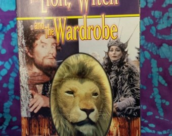 80's Video ~ The Lion, The Witch and the Wardrobe ~ The Chronicles of Narnia ~ Volume One ~ C.S. Lewis ~ BBC ~ VHS ~ Tape ~My Nostalgic Life
