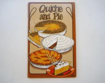 Vintage Cookbook Quiche and Pie by Irena Chalmers Potpourri Press 1974