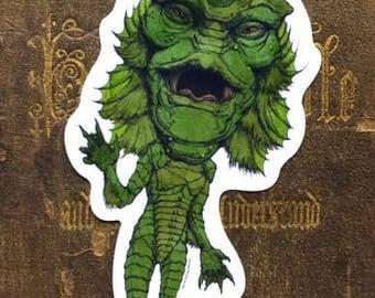Creature from the Black Lagoon Vinyl Sticker