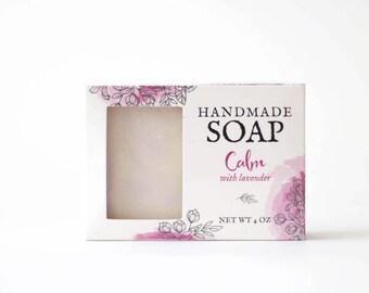 Lavender Bath Soap - Natural Soaps - Herbal Soaps - Lavender Essential Oil - Natural Soap Bars - Soap with Natural Ingredients