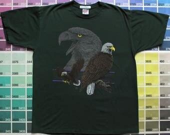 True vintage bald eagle shirt