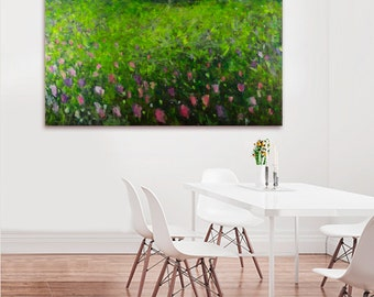 abstract painting, acrylic painting, abstract art, canvas art, acrylic paintings,amodern art, painting, Landscape painting , Flowers, Green