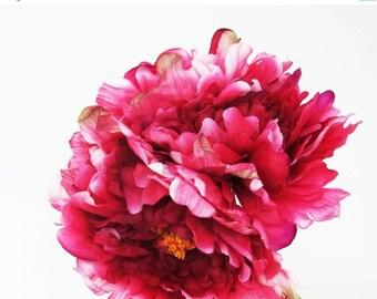 artificial silk flowers 10 medium white rose by flowersfield. Black Bedroom Furniture Sets. Home Design Ideas