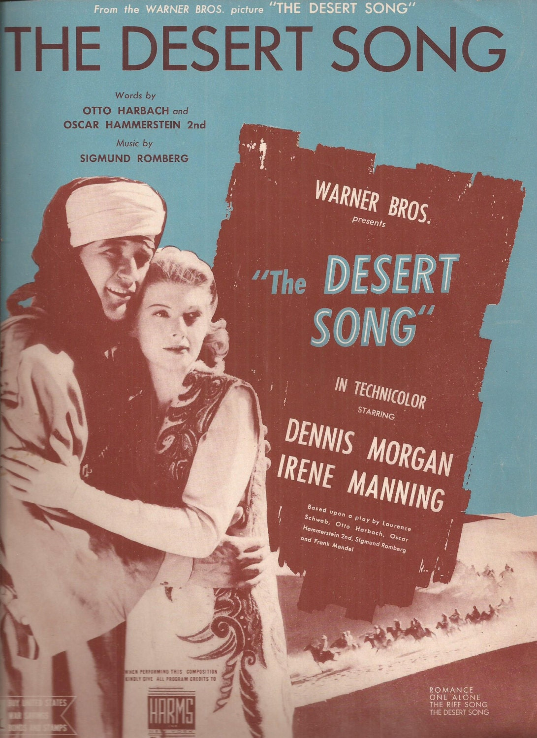 song associated with any desert