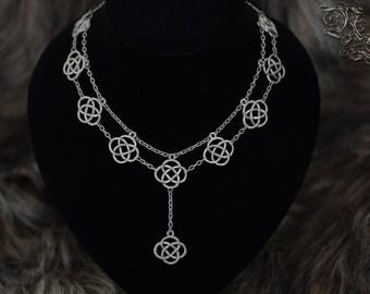 "Necklace "" The Celtic Guardian "" - Medieval, celtique, viking, elven"