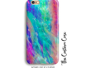 Abstract Phone Case, Soft Ethereal Abstract Phone Case, Ethereal Swirls, Fractals Phone Case