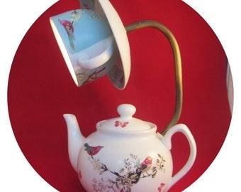 teapot lamp 9vbattery