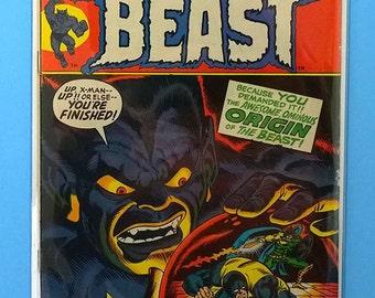 Origin of The Beast; Amazing Adventures #17 Comic Book Featuring The Beast, (Grade VF) 1972, B2