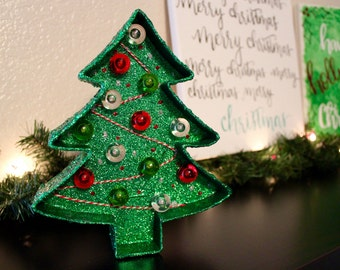 8-inch Holiday Christmas Tree Marquee | Pre-Lit Marquee | Holiday | Christmas Tree | Home Decor | Christmas Marquee | Holiday Decoration |