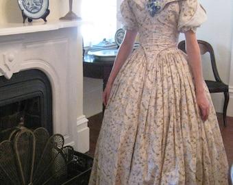 Victorian gown, Antebellum gown