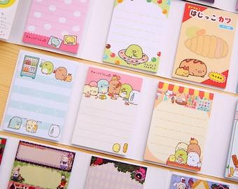 Sumikko Gurashi Memo Pad, Super Set, Write Notes, San-X, Paper, Cute Kawaii Stationary
