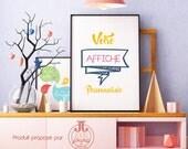 Displays customizable • text • ideal gift