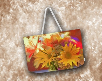 Summer's Bouquet Totes