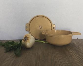 Vintage Littonware Casserole Dish, 2 Cup Littonware, Vintage Microwave Dish, Vintage Cookware, Small Casserole Dish
