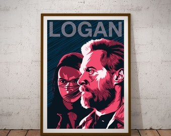 Logan and X-23 Alternative Movie Poster