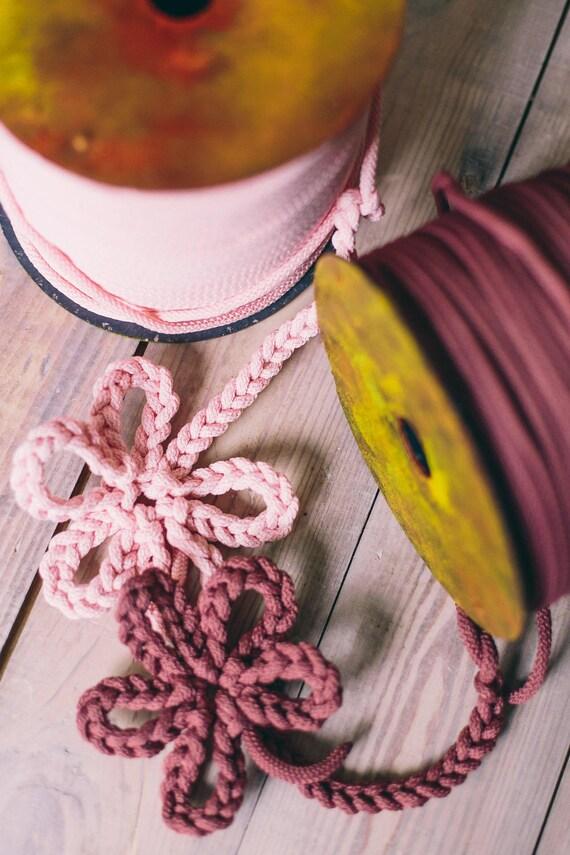 Bulky yarn/ Chunky yarn/ pink yarn/ diy crafts/ craft projects/ crochet rope/ crochet supplies/ macrame cord/ rope yarn cord #42 #52