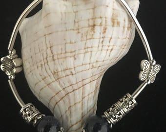 customs bracelet with pandora element