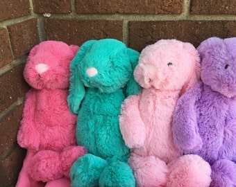 Pesonalized Easter Bunny/Embroidered Easter Bunny/ Easter Bunny, Personalized Stuffed Animal, Bunnies