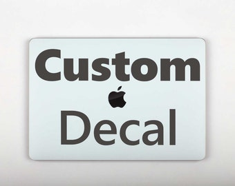 Custom Decal Macbook Pro Mackbook Air Personalized Skin Custom Design Sticker Macbook Pro Retina Macbook