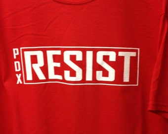 Resist PDX Tee Shirt