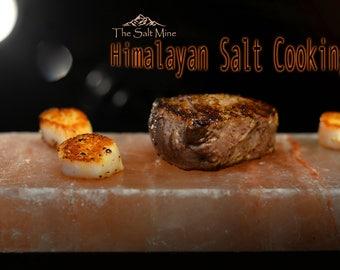 Himalayan Salt - Cooking Block - FREE GIFT