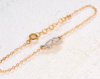 Sailor's Knot Bracelet - gold knot bracelet, silver knot bracelet, nautical rope knot, infinity knot bracelet, B13/B14/B15