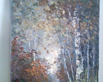 Original Bévort ( Bevort ), Johannes (John) Oil Painting - Landscape - Autumn Scene- Listed