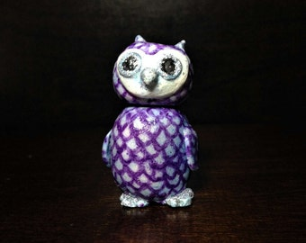 Adorable Polymer Clay Owl