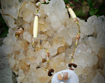 Mother of Pearl Fertility Necklace