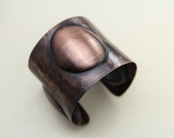 copper bracelet, sculptural bracelet, unique bracelet, wide bracelet, copper cuff, unique cuff, cuff copper, bracelet copper, copper cuff