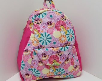 NEW Toddler JR - Alice And The Cat Backpack