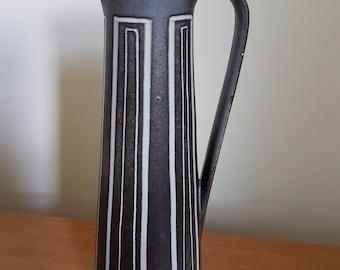 Beautiful 1960s MARSCHNER TOPFEREI german jug vase no. 316