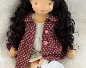 Waldorf doll Tara - 18'' Waldorf inspired doll