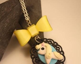 little horse pony pendant necklace