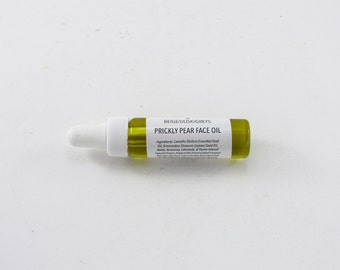 Prickly Pear Face Oil / Oil Face Serum / Moisturizer / Collaboration With Velvet Antler Marfa, Texas