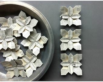100 Wedding Petals - Origami Flower - Bridal Shower - Wedding Favors - Wedding Flowers - Flower Petals - Hydrangea - Birthday - Paper Flower