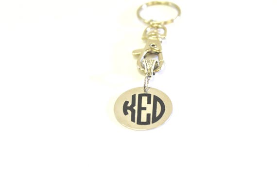 Personalized Monogrammed Keychain, New Car Gift, Monogrammed Gift, Personalized Gift for Her, Graduation Gift, Going To College Gift