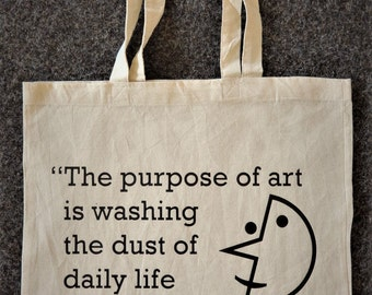 Purpose Of Art- Tote Bag