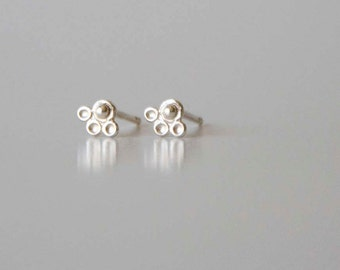 Tiny Sterling Silver Studs, Silver Earring, Post Earring, Tiny Earring, Delicate Earring, Small Earring, Silver Stud Earring, Indian Earring