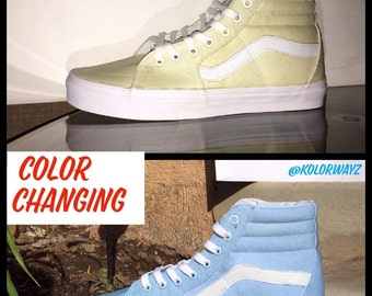 Color Changing Vans