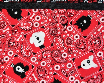 Pups and Bandana Pillowcases