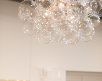 "The XL Bubble Chandelier (26"" diameter)"