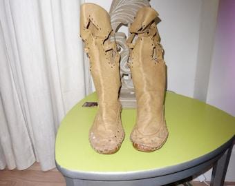 Boots leather size 39 en - 1970s