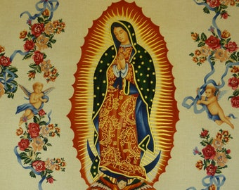 Alexander Henry Fabric - Virgin of Guadalupe