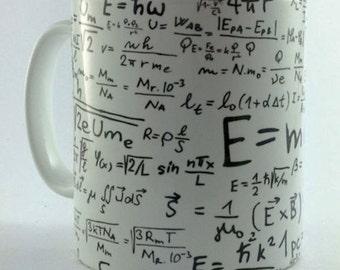 New Maths Math Formulas equations 11oz Gift Mug Cup Present Student Teacher Mathematics