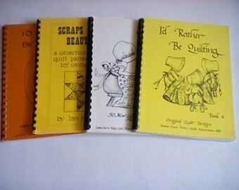 Santa Clara Valley Quilt Assoc. Quilt Pattern Books