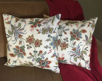 Floral Patterned pillow cover set