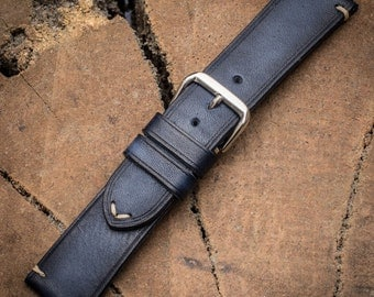 Handmade straps leather straps leather watch band 24mm 22mm 20mm 18mm leather watch strap