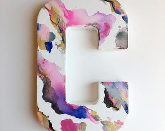 Letter Canvas Paintings